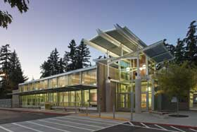 Covington library image courtesy of King County Library System