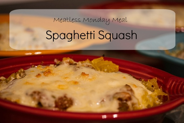 Post image for Meatless Monday – Simple Spaghetti Squash Supper